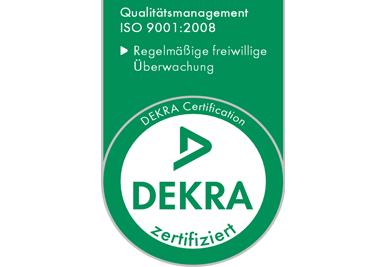 Certifikát 9001:2008